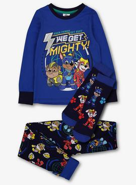 Paw Patrol Blue Pyjamas & Sock Set