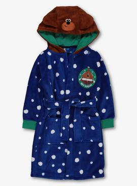 Hey Duggee Blue Fleece Dressing Gown