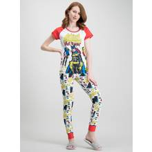 Marvel Comics Batgirl White 'What To Wear' Pyjamas