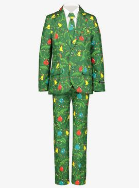 Christmas Tree Decoration Suit & Tie
