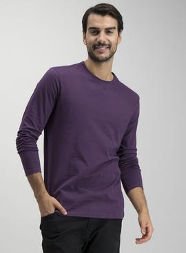 Online Exclusive Purple Long Sleeve T-Shirt