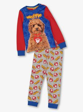 Waffle The Wonder Dog Multicoloured Pyjamas