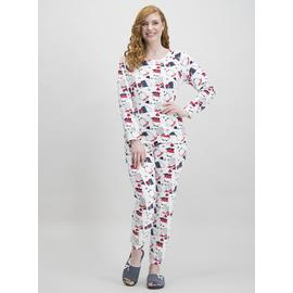 Online Exclusive Christmas Multicoloured Penguin Pyjamas