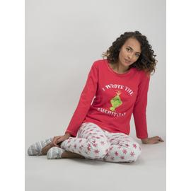 Christmas The Grinch Red Pyjamas