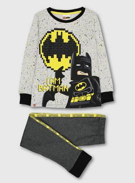 Lego Batman Grey Pyjamas