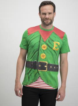 Online Exclusive Christmas Green Elf T-Shirt