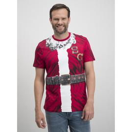 Online Exclusive Christmas Red Santa T-Shirt