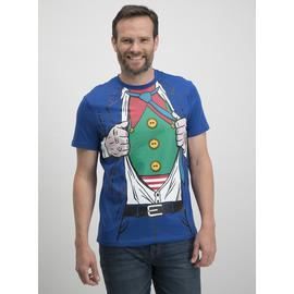 Online Exclusive Christmas Blue Hidden Elf T-Shirt