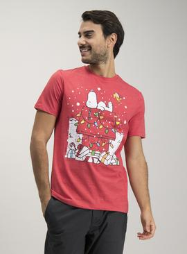Online Exclusive Snoopy Red Christmas T-Shirt