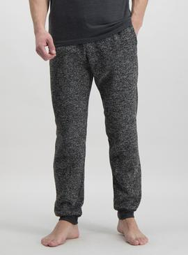 Charcoal Grey Snit Pyjama Bottoms