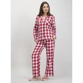 Christmas Red Tartan Check Pyjamas
