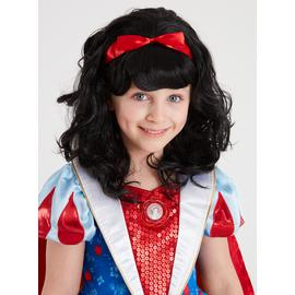 Disney Princess Snow White Black Wig - One Size
