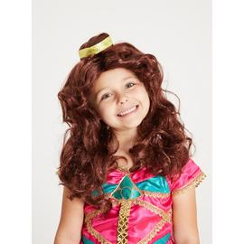 Disney Princess Belle Brown Wig - One Size