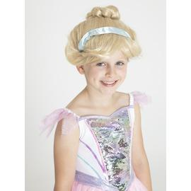 Disney Princess Cinderella Yellow Royale Wig - One Size