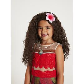 Disney Moana Brown Wig - One Size
