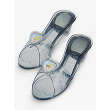 Disney Princess Grey Cinderella Jelly Shoes - One Size