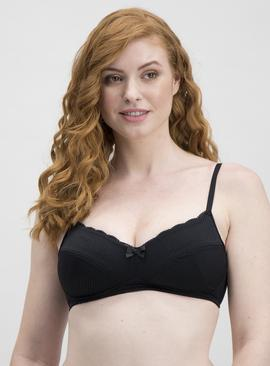 Black Supersoft Padded Comfort Bra