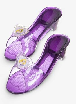 RUBIE'S Disney Princess Rapunzel Purple Jelly Shoes - One Si
