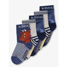 The Gruffalo Blue Socks 5 Pack