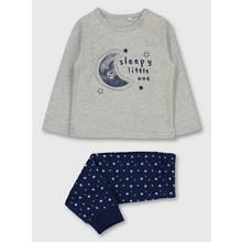 Grey Glow-In-The-Dark Pyjamas