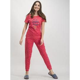 Christmas Red Slogan Pyjamas
