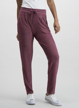 Grey Marl Soft Touch Joggers