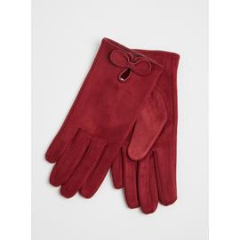 TOTES ISOTONER Burgundy Gloves