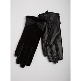 TOTES ISOTONER Black Luxury Gloves
