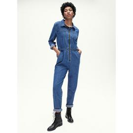 Denim Blue Boiler Suit