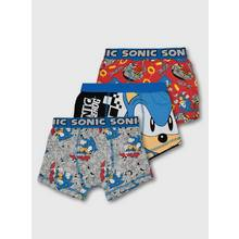 Sonic The Hedgehog Blue Trunks 3 Pack