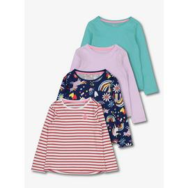 Multicoloured Playdays Tops 4 Pack