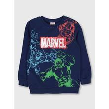Marvel Navy Reversible Sequin Sweatshirt