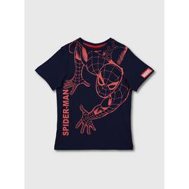 Marvel Comics Navy Blue Spider-Man T-Shirt