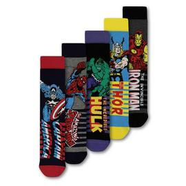 Marvel Avengers Multicoloured Socks 5 Pack