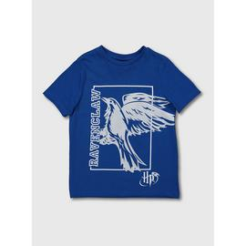 Harry Potter Blue Ravenclaw Short Sleeve T-Shirt