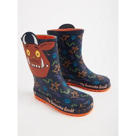 The Gruffalo Navy Blue Wellies
