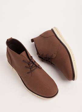 Sole Comfort Brown Lightweight Chukka Boots