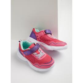 Pink Star Cut Out Trainers