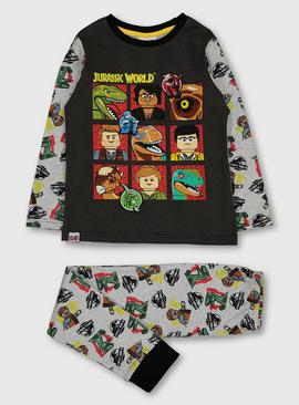 Lego Jurassic World Grey Pyjamas