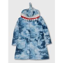 Blue Shark Dressing Gown