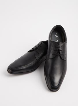 Sole Comfort Black Leather Lace Up Formal Shoes