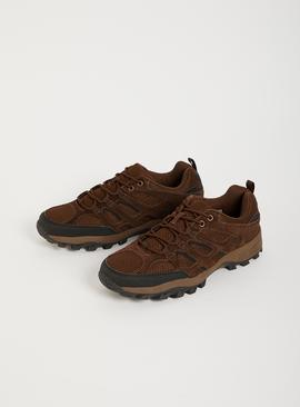 Sole Comfort Brown Suede Hiker Shoes