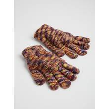 Multicoloured Supersoft Gloves - One Size