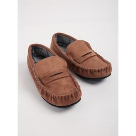 THINSULATE Stone Moccasin Slippers