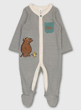The Gruffalo Oatmeal Stripe Sleepsuit