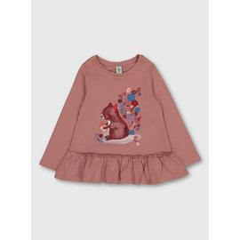 Pink Garden Squirrel T-Shirt