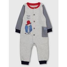 Paddington Grey & Navy Stripe Bodysuit