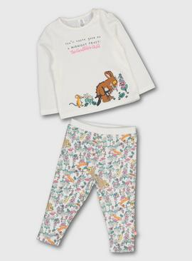 The Gruffalo Cream Printed Pyjamas