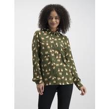 Green Pug Print Shirt