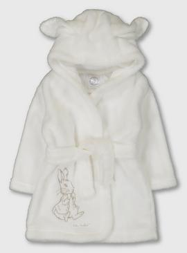 Peter Rabbit Cream Fleece Dressing Gown